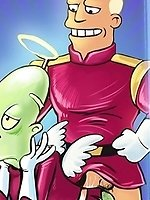 Futurama space queers
