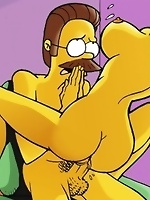 Yellow-skinned hoes from the Simpsons get drilled